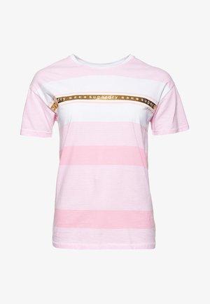 LOGO MINIMAL PORTLAND - T-shirt imprimé - pink