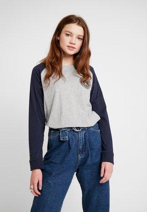COLLEGE RAGLAN GRAPHIC - T-shirt à manches longues - spirit grey