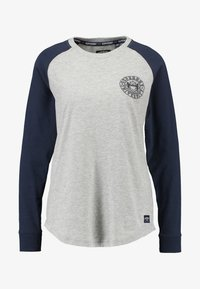 Superdry - COLLEGE RAGLAN GRAPHIC - Langarmshirt - spirit grey - 4