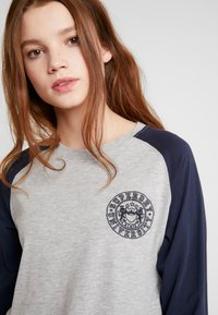 Superdry - COLLEGE RAGLAN GRAPHIC - Langarmshirt - spirit grey - 3