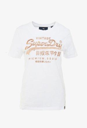 PREMIUM GOODS LUXE ENTRY TEE - T-shirt print - optic