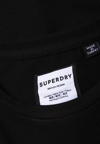 Superdry - MIT FOLIEN-GRAFIK - T-shirt con stampa - black - 3
