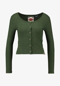 Superdry - BUTTON THROUGH - Cardigan - ive green - 4