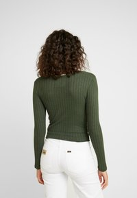 Superdry - BUTTON THROUGH - Cardigan - ive green - 2