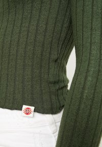 Superdry - BUTTON THROUGH - Cardigan - ive green - 5