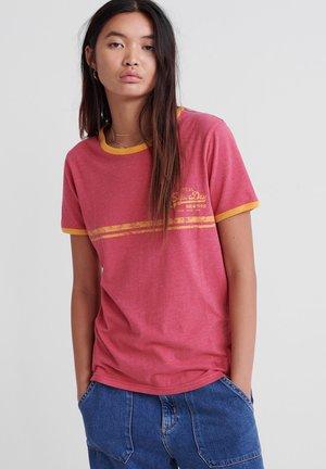 Vintage  - T-shirts print - pink