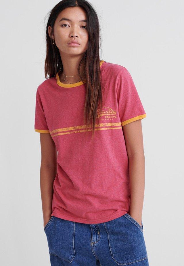 Vintage  - T-Shirt print - pink