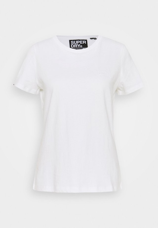 ELITE CREW TEE - T-shirt basic - white