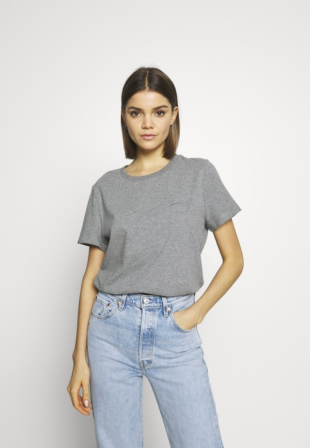 ELITE CREW TEE - T-shirt basic - elite charcoal
