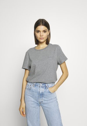 ELITE CREW TEE - Basic T-shirt - elite charcoal