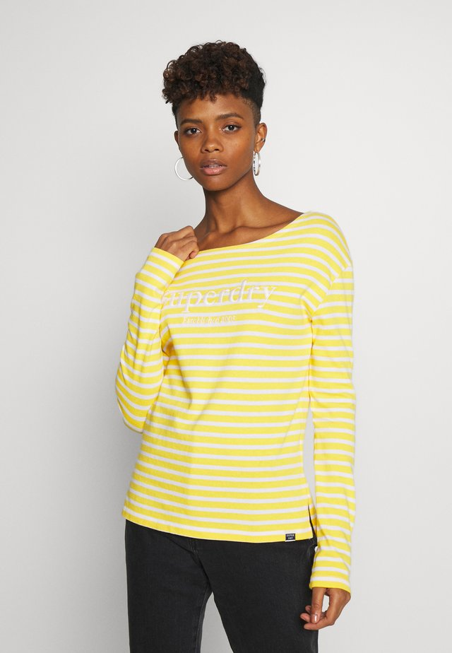 BLAIR STRIPE - Trui - golden rod