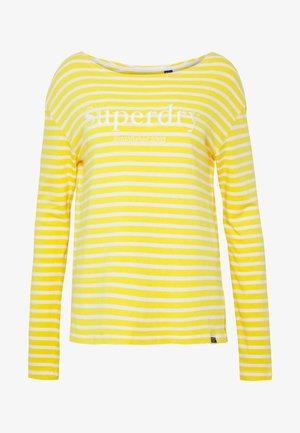 BLAIR STRIPE - Pullover - golden rod