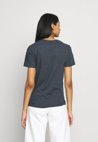 Superdry - STITCH ENTRY TEE - T-shirts med print - eclipse navy marl - 2