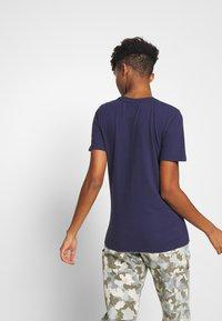 Superdry - METALLIC ENTRY TEE - T-shirts med print - atlantic navy - 2
