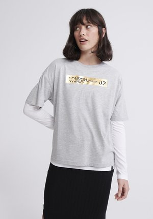 CITY BOX  - Camiseta estampada - grey marl