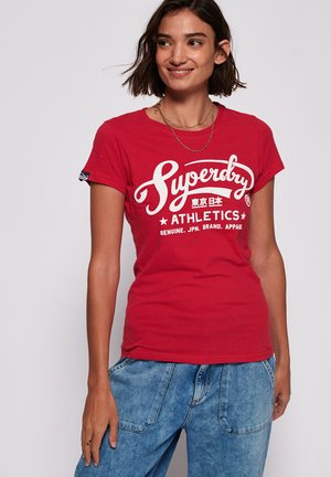 ATHLETIC STARS - T-shirt print - rich scarlet