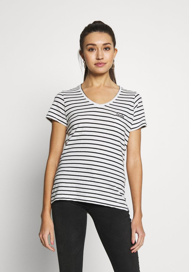 ESSENTIAL TEE - T-shirts med print - off white