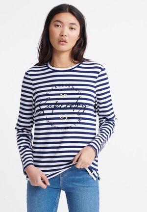 SUMMER APPLIQUE  - T-shirt à manches longues - navy