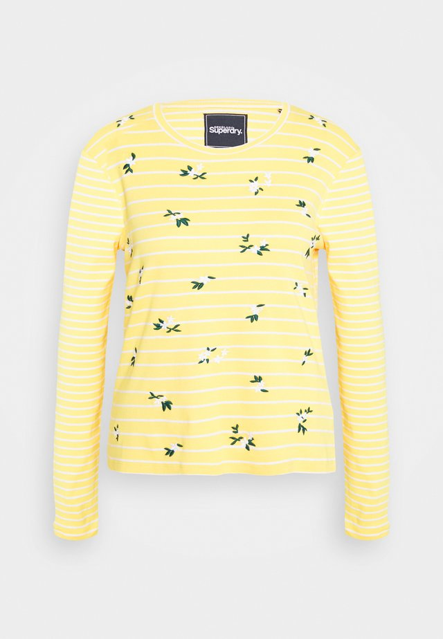 STRIPE - Longsleeve - yellow