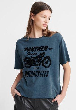 MERCH STORE BAND  - Camiseta estampada - stockwell blue