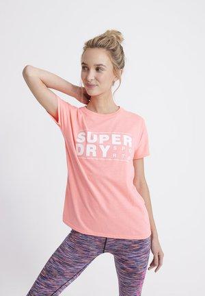 T-shirt print - coral