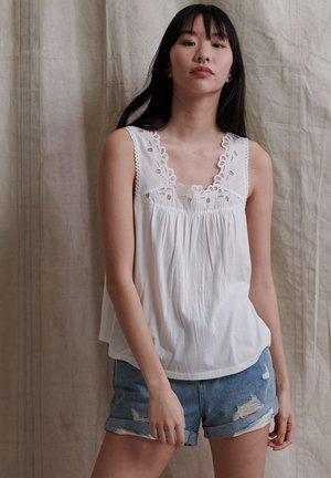 Camicetta - chalk white