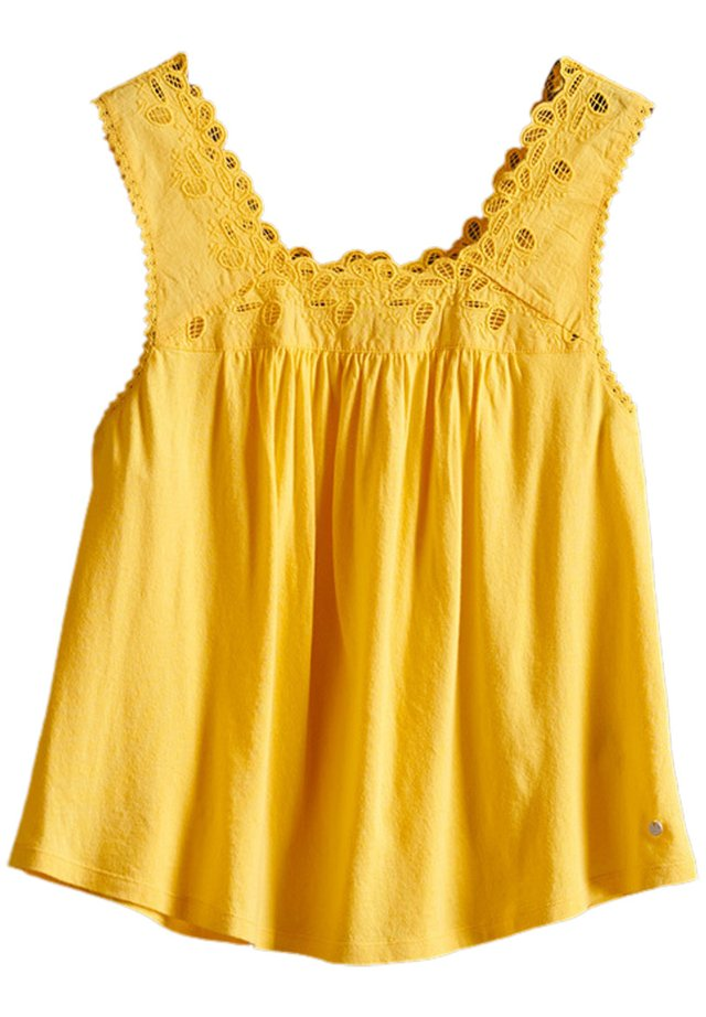 Blouse - springs yellow