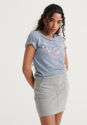 Print T-shirt - cali blue snowy