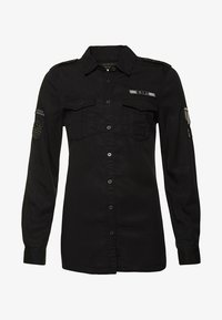 Superdry - MILITÄR-STIL  - Paitapusero - washed black - 3