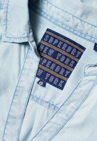 Superdry - TENCEL - Paitapusero -  powder blue - 4