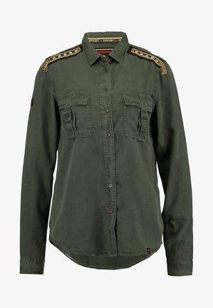 LENNOX MILITARY - Košile - washed khaki