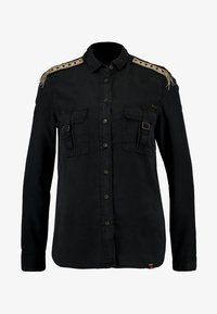 Superdry - LENNOX MILITARY - Chemisier - washed black - 3
