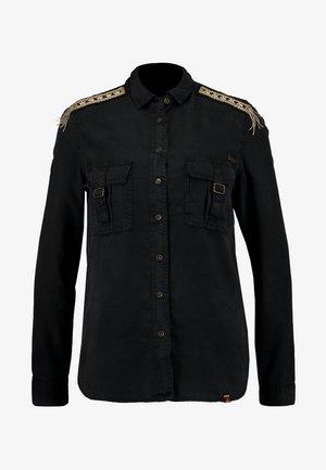 LENNOX MILITARY - Skjorte - washed black