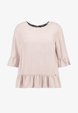 JAYNA RUFFLE - Bluser - pale pink