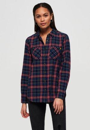 Overhemdblouse - red/navy