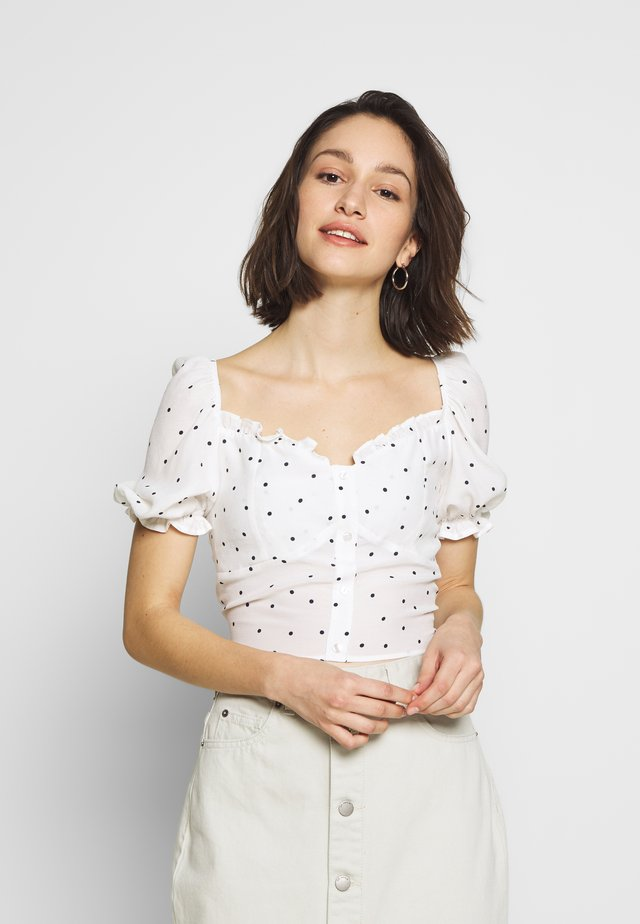QUINCY SUMMER - Blouse - white