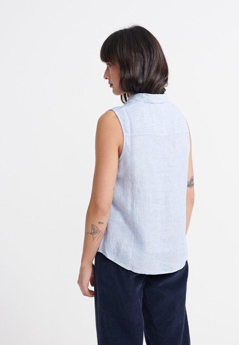 Superdry Aubrey Shirt - Skjorta Blue