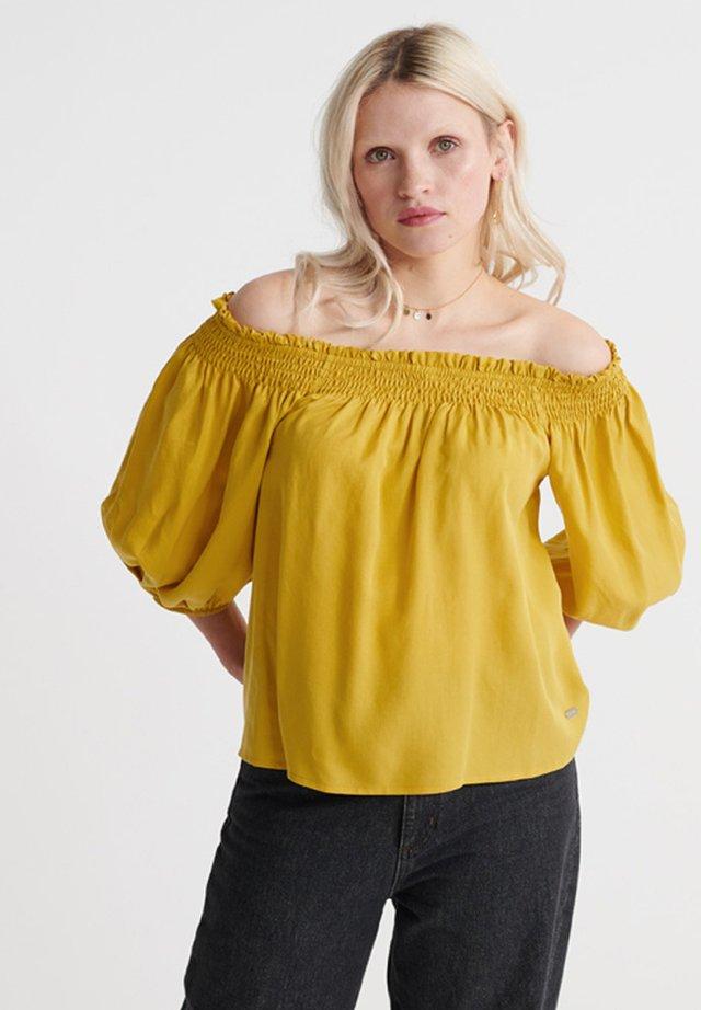Bluzka - oil yellow