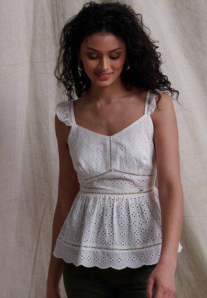 Bluse - chalk white