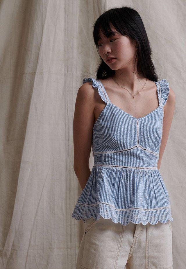 Bluzka - blue stripe