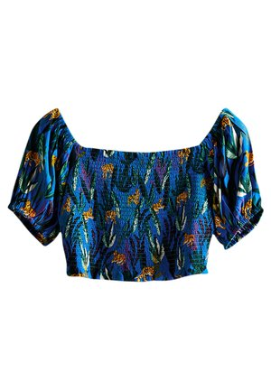 Blusa - blue aop