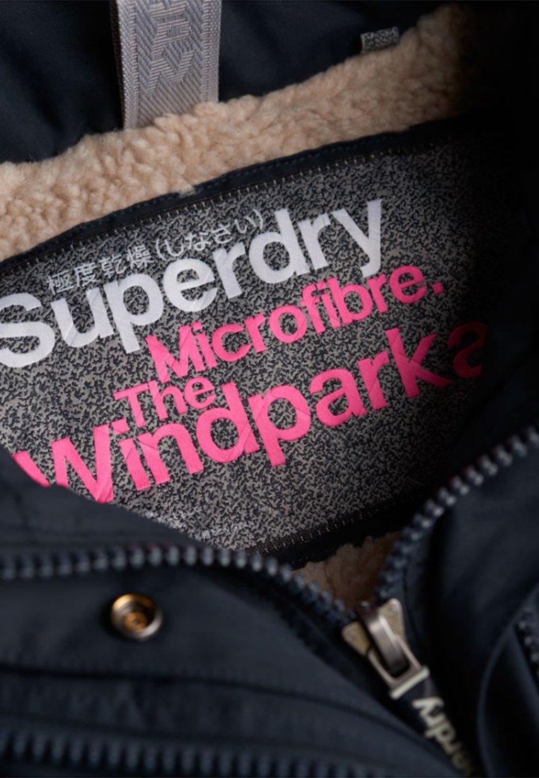 Superdry Boxy Snorkle - Winterjacke Dark Navy