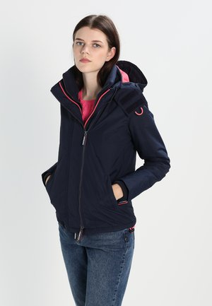 POP ZIP HOOD ARCTIC - Light jacket - nautical navy/lurex coral blush