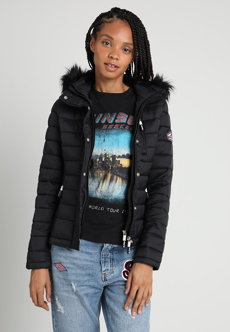 Superdry - FUJI  - Light jacket - black