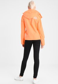 Superdry - PRISM TECHNICAL HOODED ZIP WINDCHEATER - Blouson - coral/ecru - 2