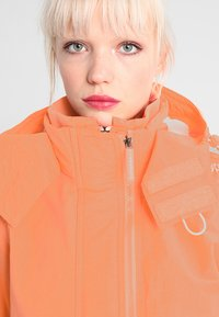 Superdry - PRISM TECHNICAL HOODED ZIP WINDCHEATER - Blouson - coral/ecru - 3