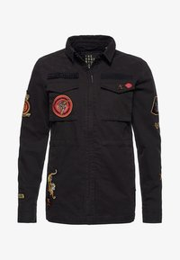 Superdry - ROOKIE ARMY - Chaqueta fina - washed black - 5