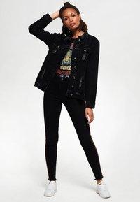 Superdry - Kurtka jeansowa - black - 1