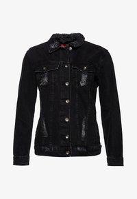 Superdry - Kurtka jeansowa - black - 5