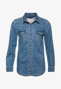 Superdry - Overhemdblouse - authentic blue - 5